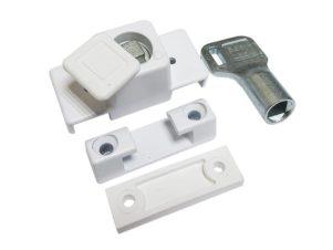 Блокиратор открывания окна Baby Lock с цилиндром и ключем