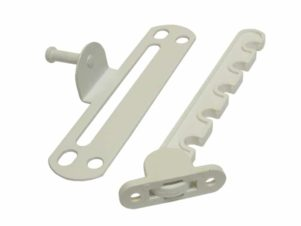 Гребенка оконная для алюминиевых окон, Bauset, металл, белая